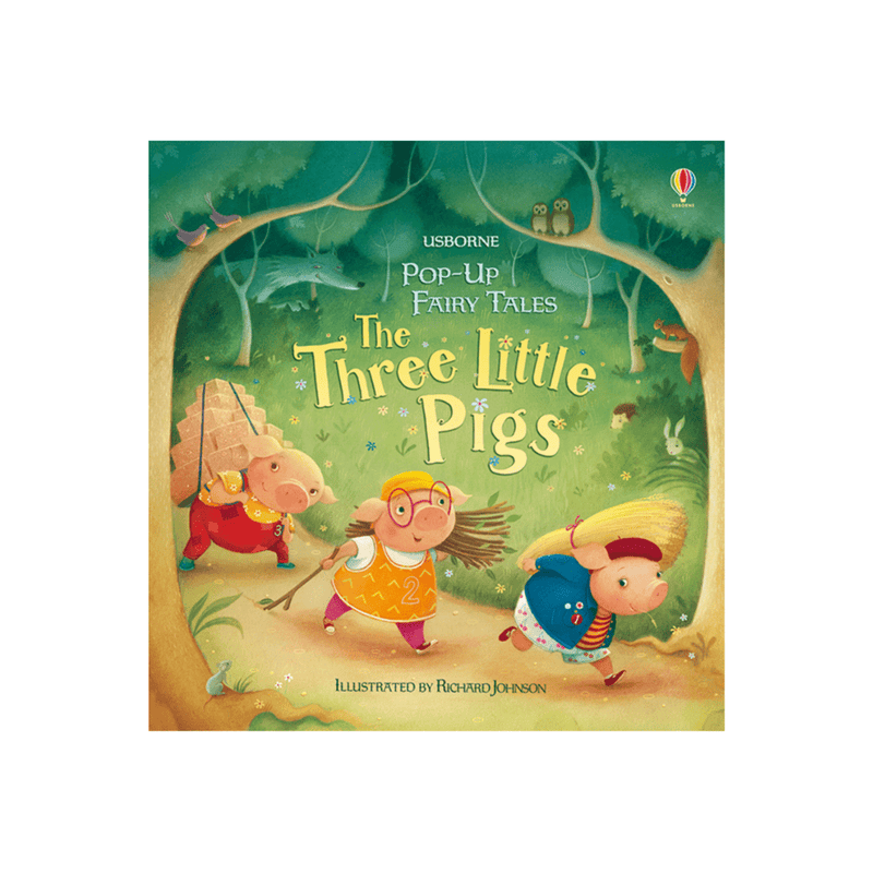 The Three Little Pigs Pop Up Book
