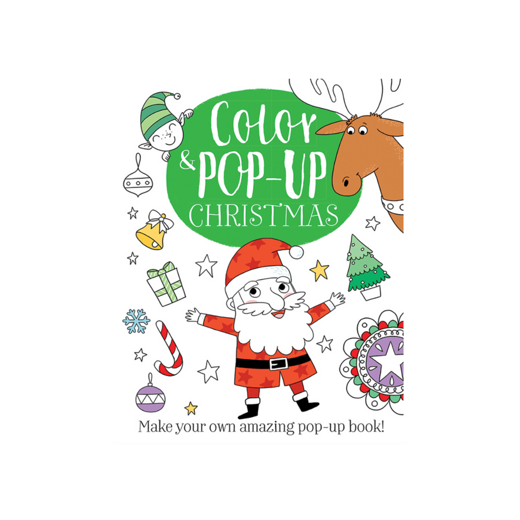Color & Pop Up Christmas Book