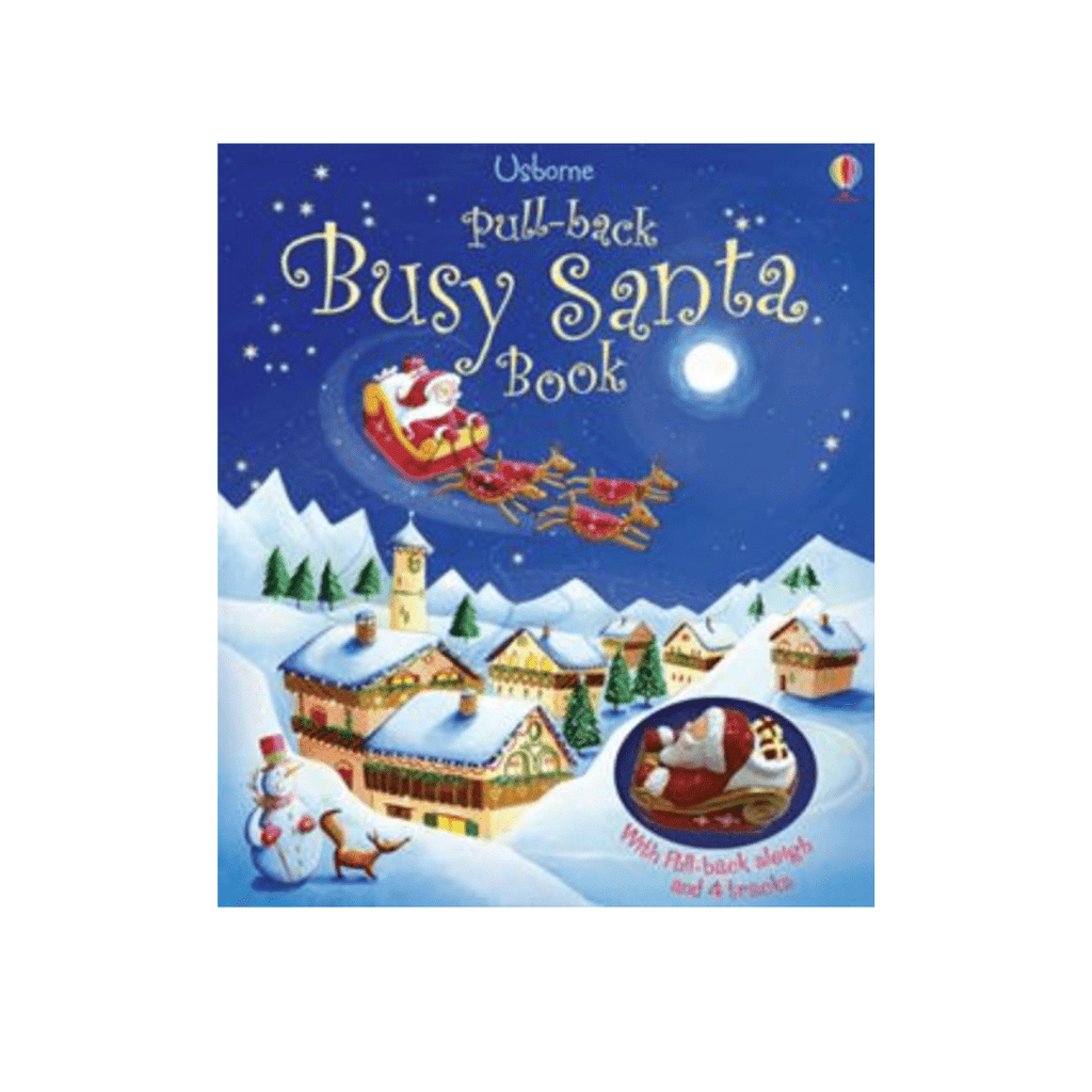 Busy Santa Pull Back Book