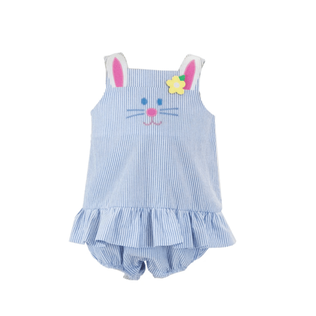 Florence Eiseman Bunny Romper with Skirt