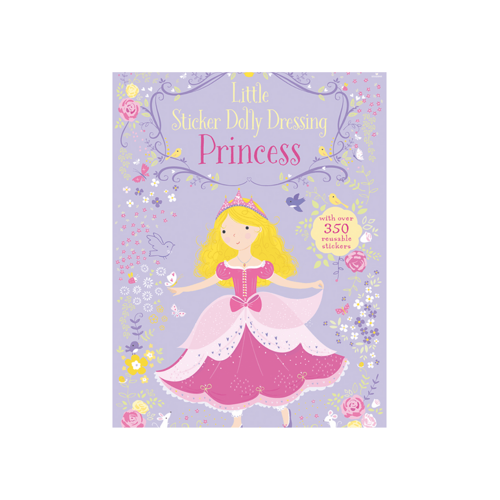 Little Sticker Dolly Dressing Book- Princesses