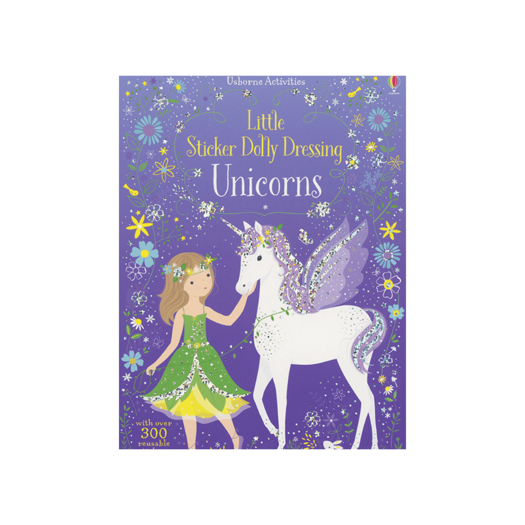 Little Sticker Dolly Dressing Book- Unicorn