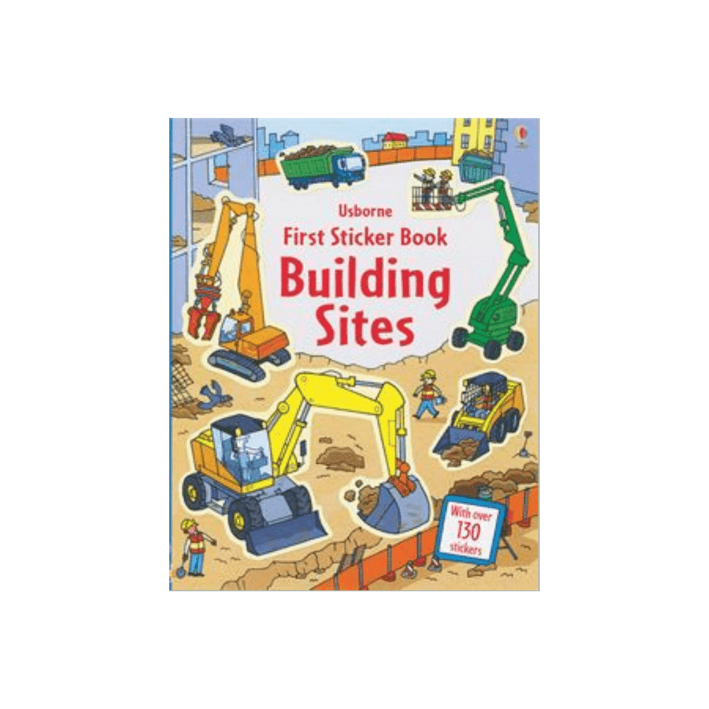 First Sticker Book- Building Sites