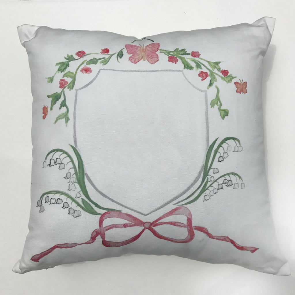 Over the Moon Butterfly Pillow
