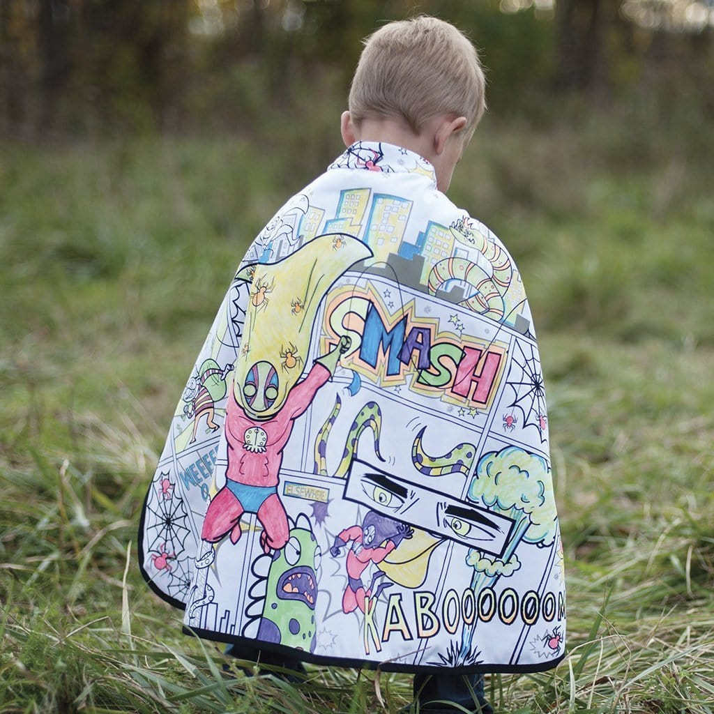 Great Pretenders Color Me Spider Superhero Cape