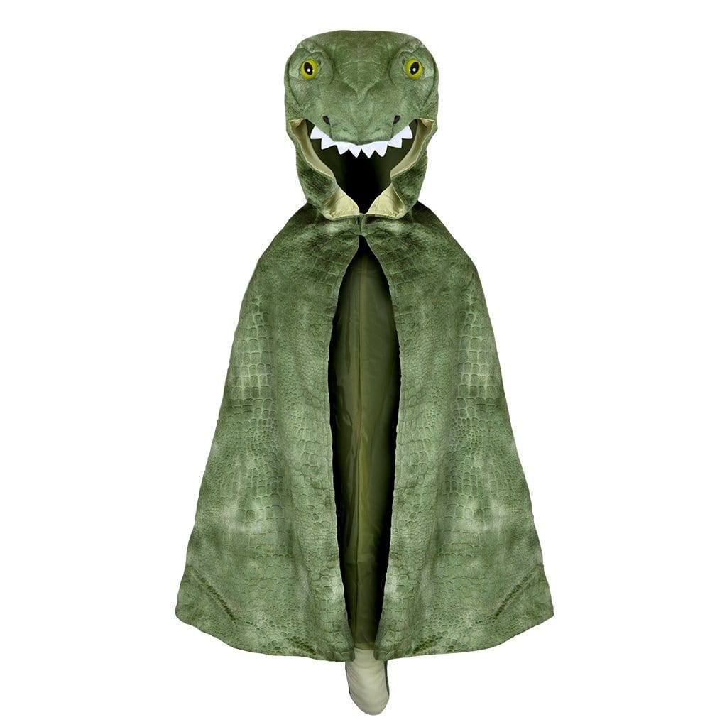 Great Pretenders T-Rex Hooded Cape (Size 4/5)