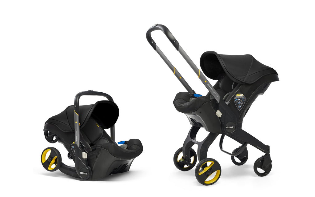 Doona Car Seat and Stroller- Black
