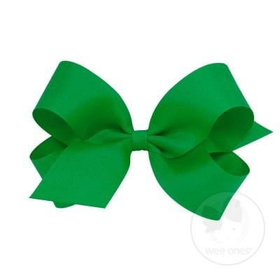 Wee Ones Green Bow
