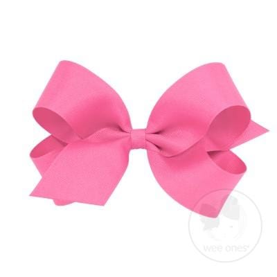 Wee Ones Hot Pink Bow