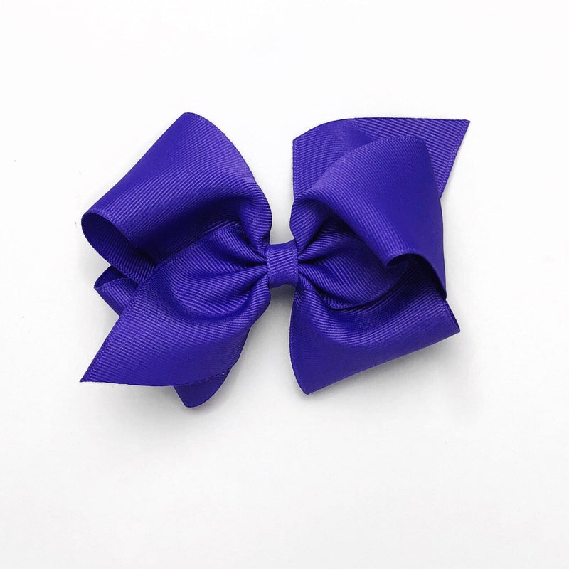 Wee Ones Purple Bow