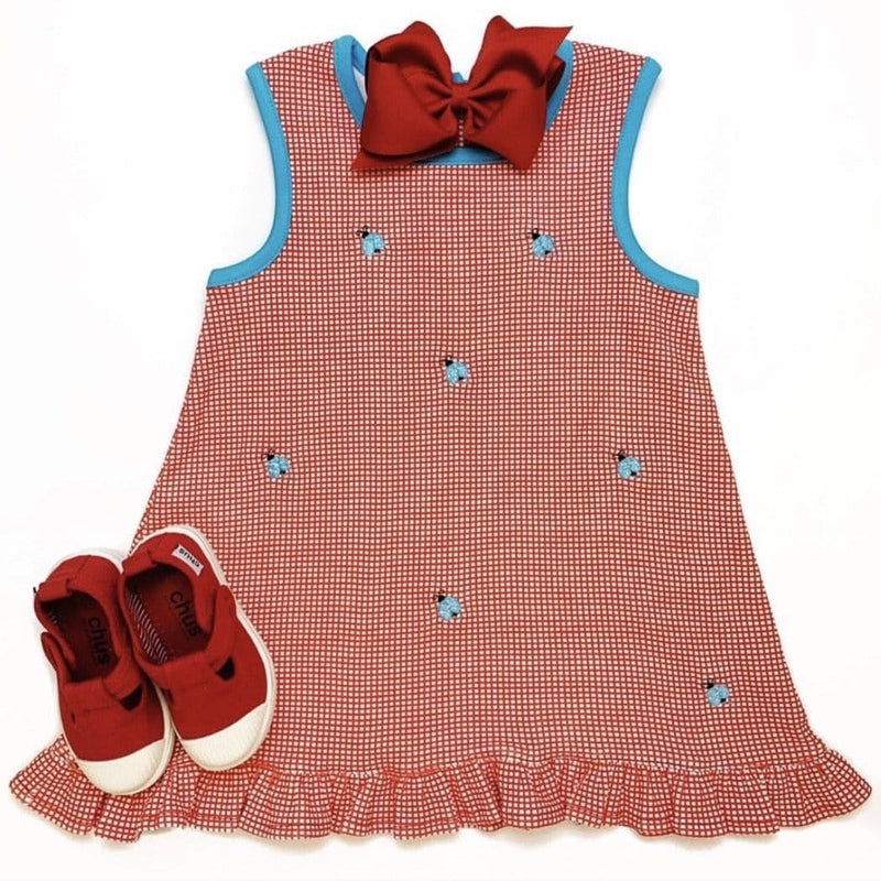 Luigi Kids Ladybug Dress