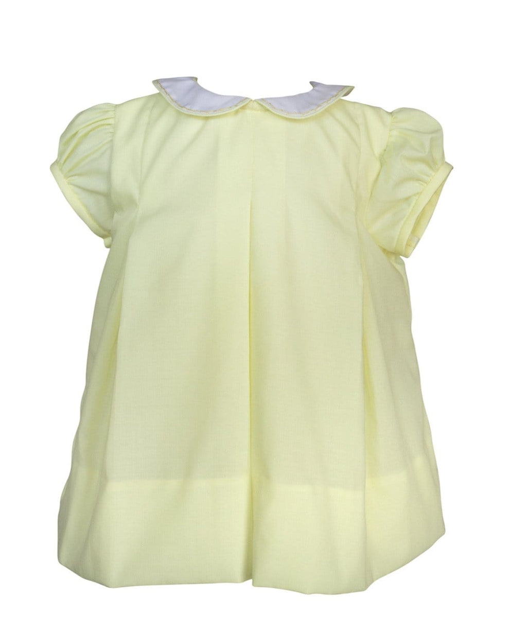 The Proper Peony Yellow Pleat Dress