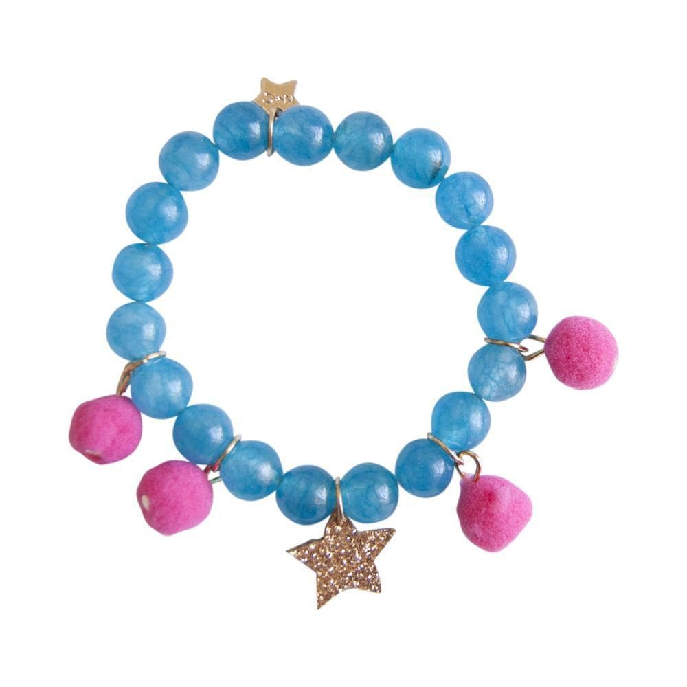 Henny and CoCo Greta Bracelet - Bright Pink