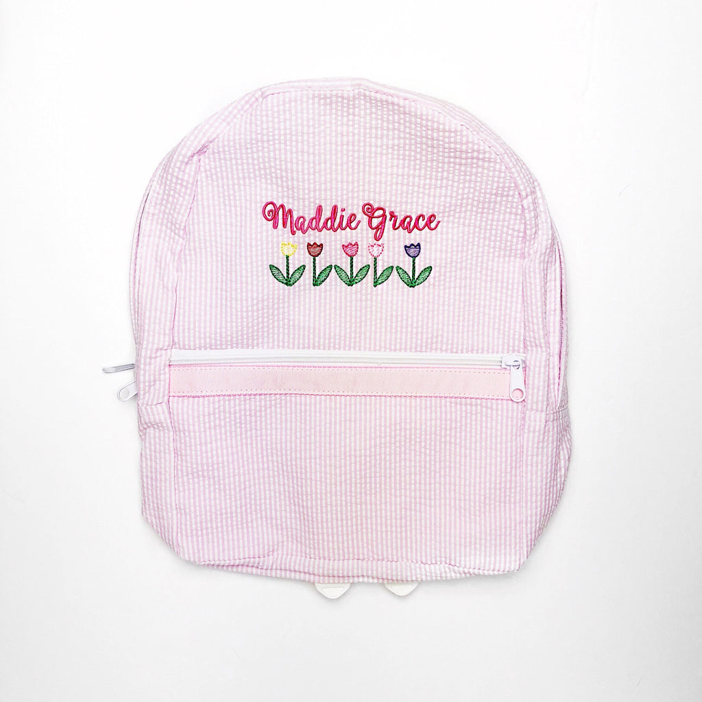 Pink Small Backpack
