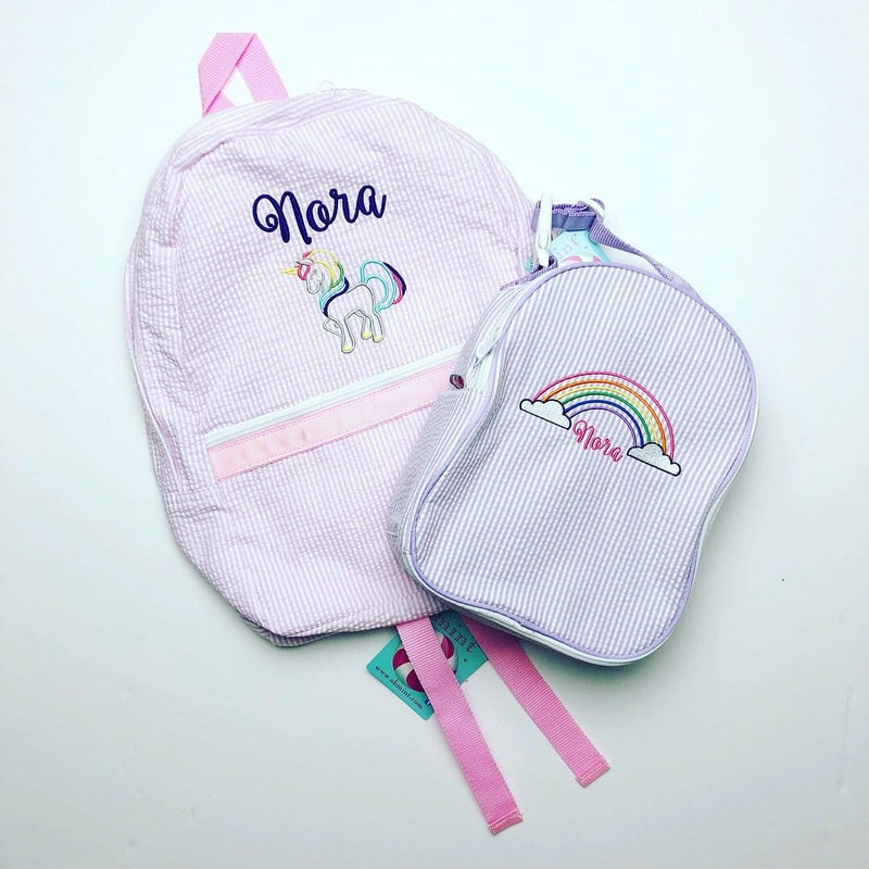 Pink Medium Backpack