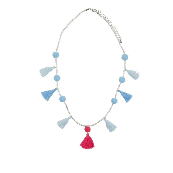 Henny and CoCo Maya Necklace - Blue