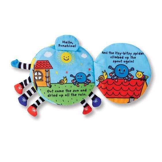 Melissa & Doug Soft Activity Book - The Itsy Bitsy Spider