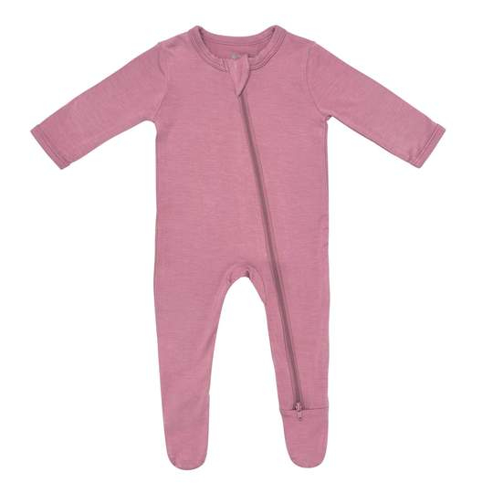 Kyte Baby Mulberry Zippered Footie