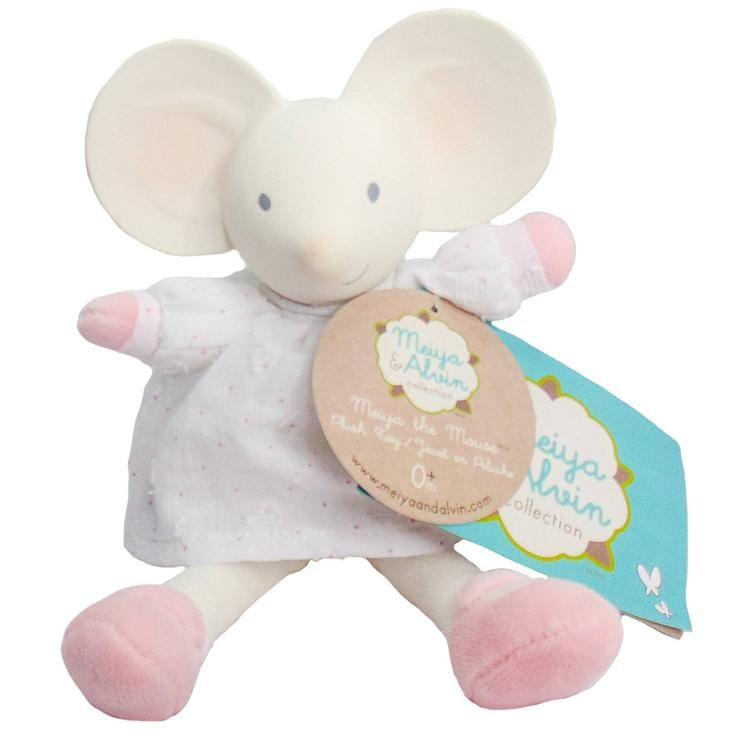 Meiya & Alvin Mini Plush Toy - Meiya the Mouse