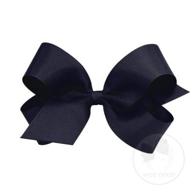 Wee Ones Navy Bow