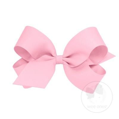 Wee Ones Pearl Pink Bow