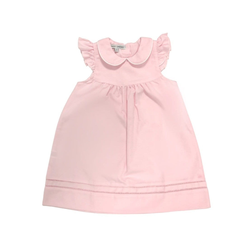 Sweet Dreams Pink Hemstitch Dress