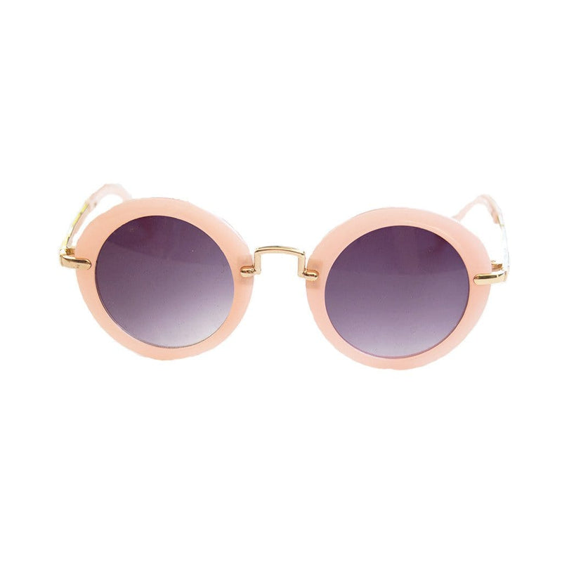 Henny and Coco Sunglasses - Rosalie (Pink Round)