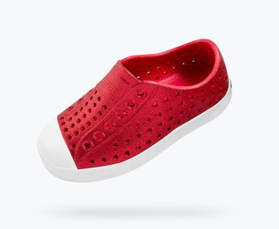 Native Jefferson Child Slip On Shoes - Sakura Bling