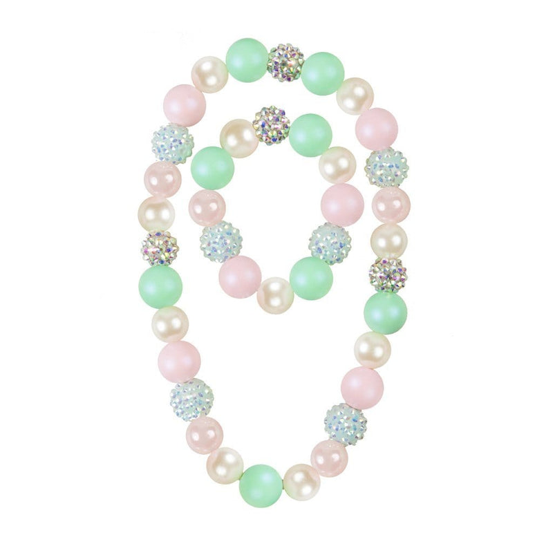 Great Pretenders Sorbet Sparkle Necklace & Bracelet Set
