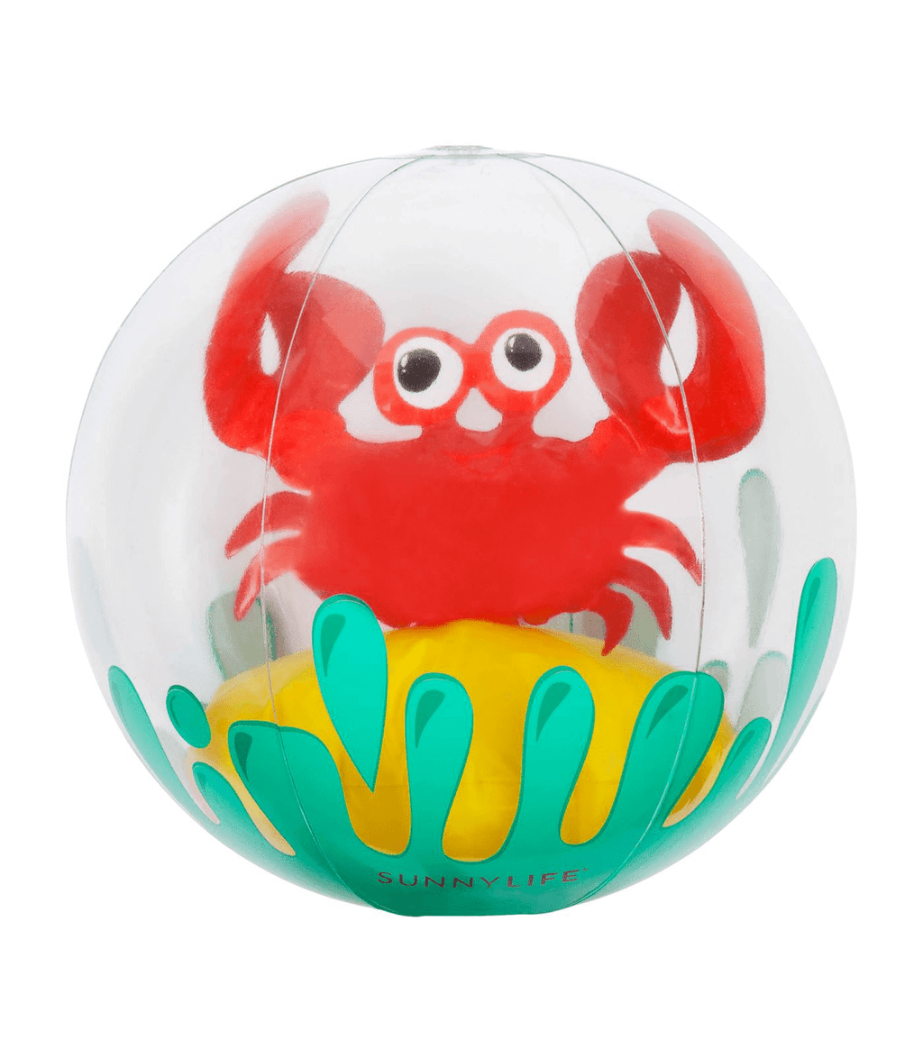 Sunnylife 3D Inflatable Beach Ball Crabby