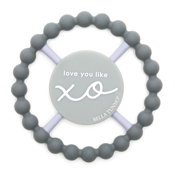 Bella Tunno Happy Teether- Love You Like XO