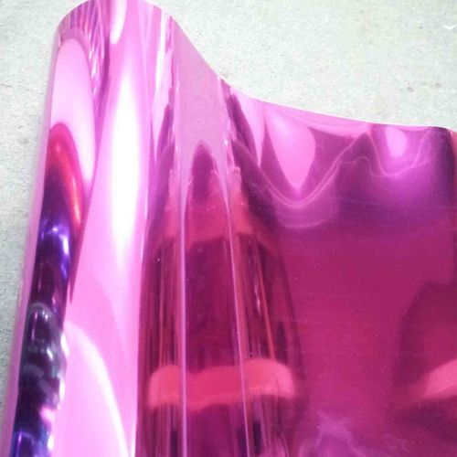 Chrome Pink Premium Heat Transfer Vinyl CAD Cut and Easy Weed HPU