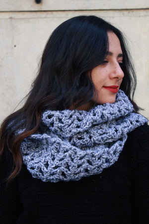 Open image in slideshow, Lace Infinity Scarf