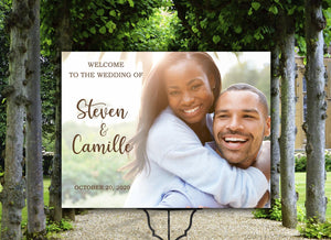 Wedding Welcome Sign, Welcome sign wedding, Photo wedding sign, Welcome wedding sign, Photo wedding welcome sign, Wedding sign