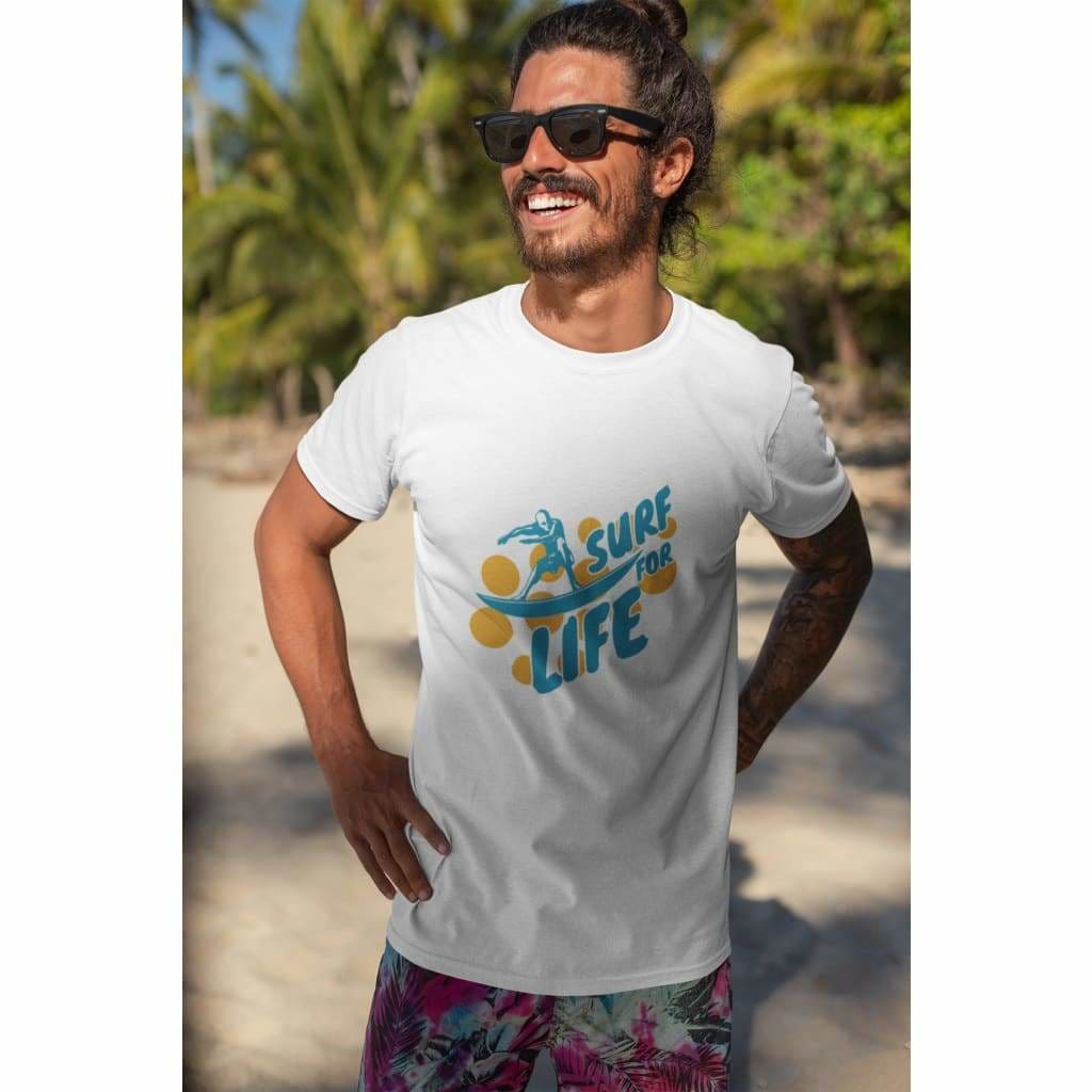 Surf For Life T-Shirt - Men T-shirts
