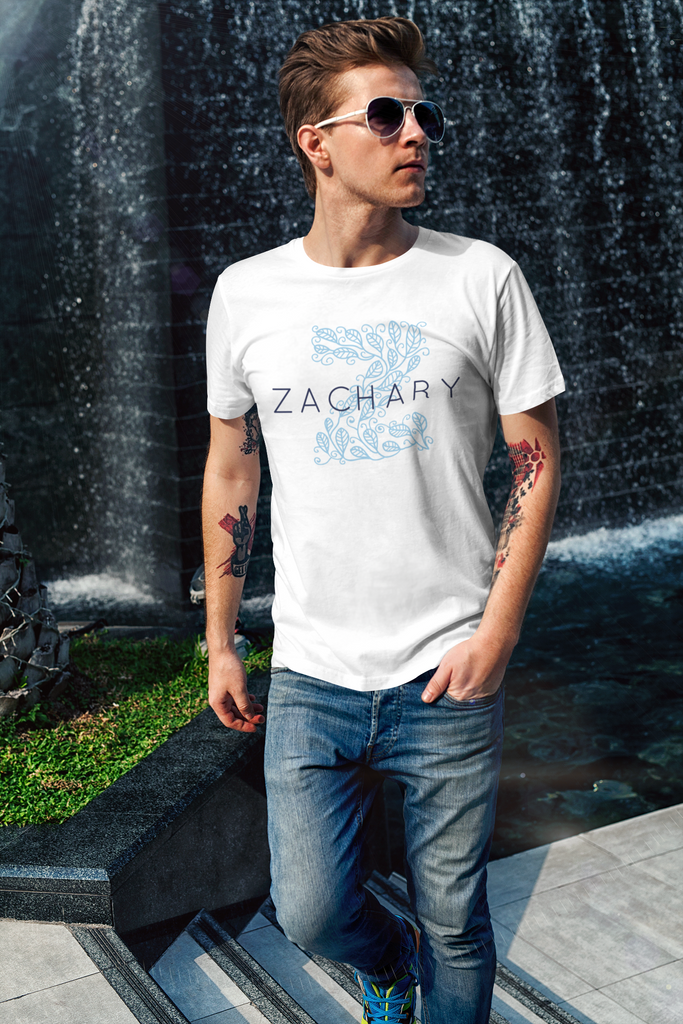 Zachary Short-Sleeve Unisex T-Shirt - mariiadesignshop