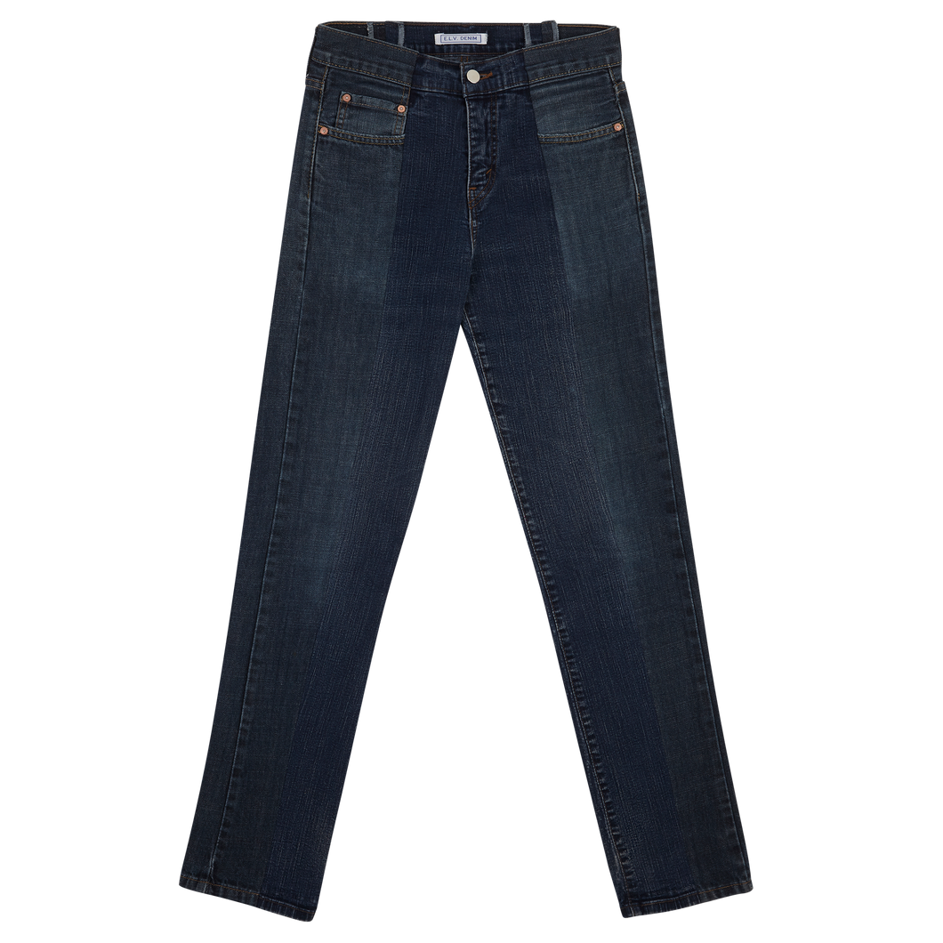 E. L. V. DENIM - Low-Rise Twin (dark & dark)