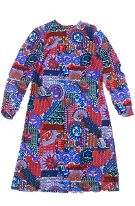 Rex - Psychedelic cocktail dress