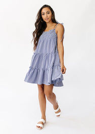 Play It Cool Gingham Dress