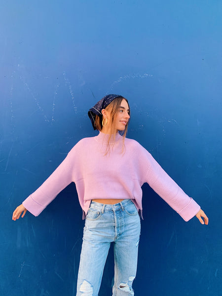 Pastel Love Ribbed Sweater