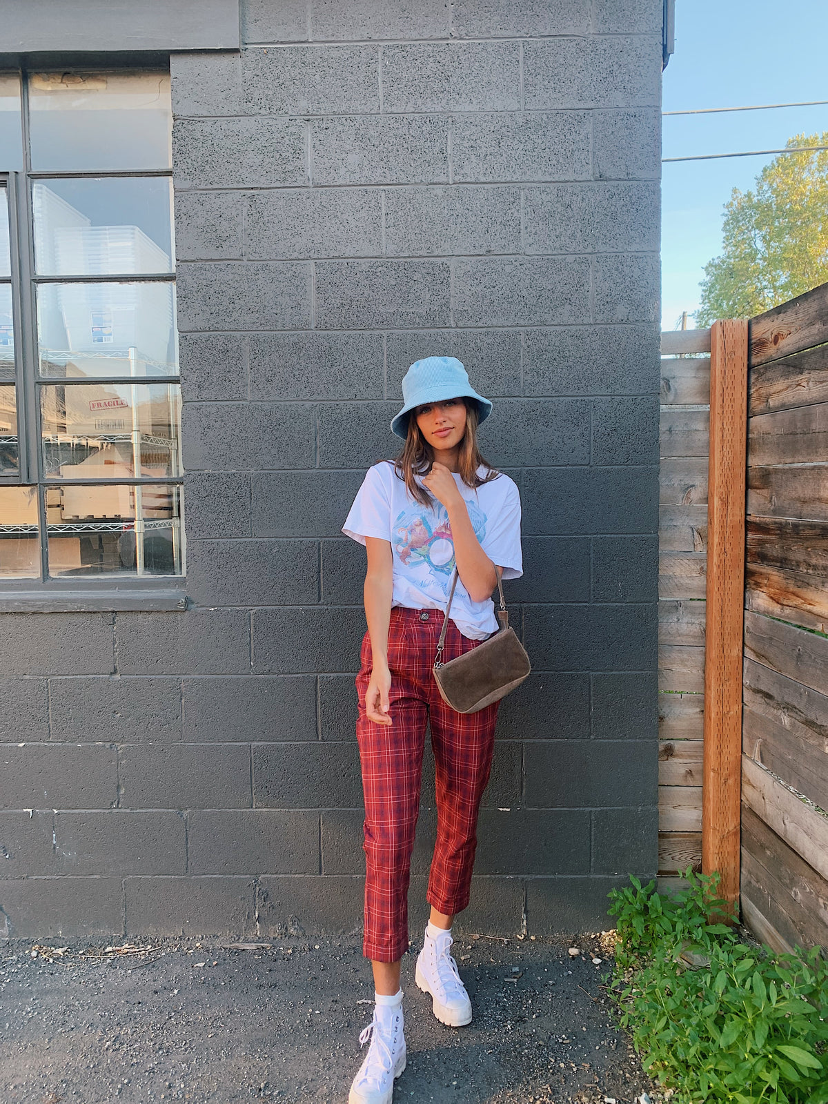 Cool and Candid Plaid Pant