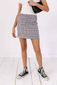 Clueless Mini Skirt