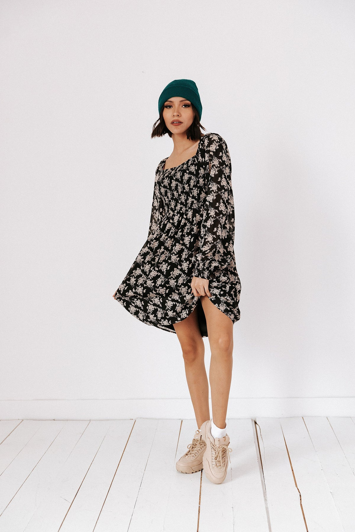 Song Of Summer Dress// Black