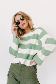 State of Mind Striped Knit