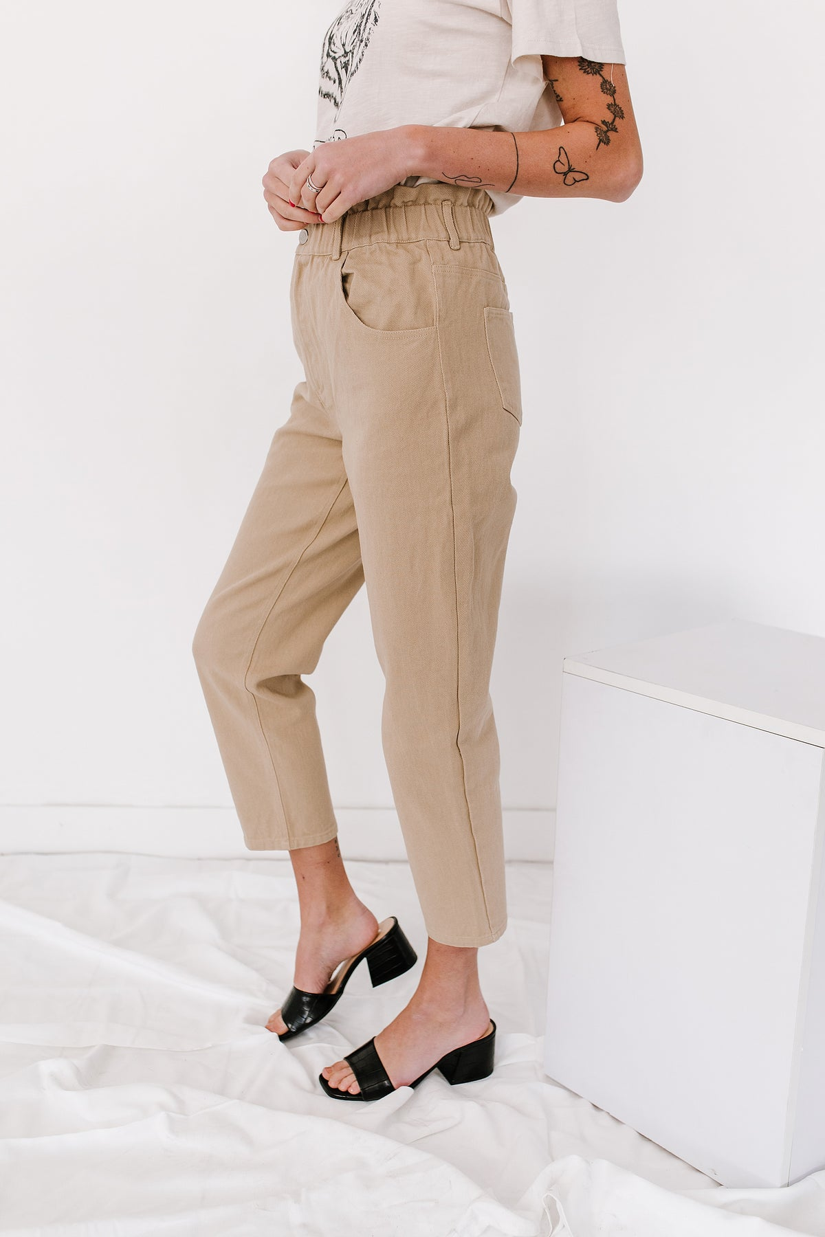 On The Road Pant// Tan