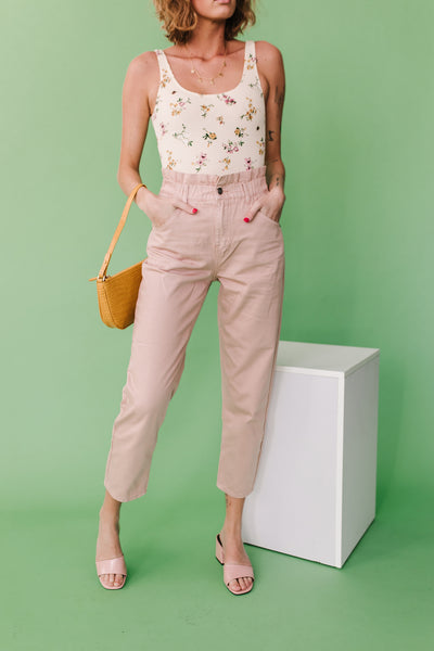 On The Road Pant// Blush
