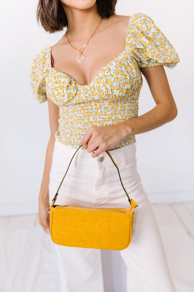Cool For The Summer Bag// Yellow