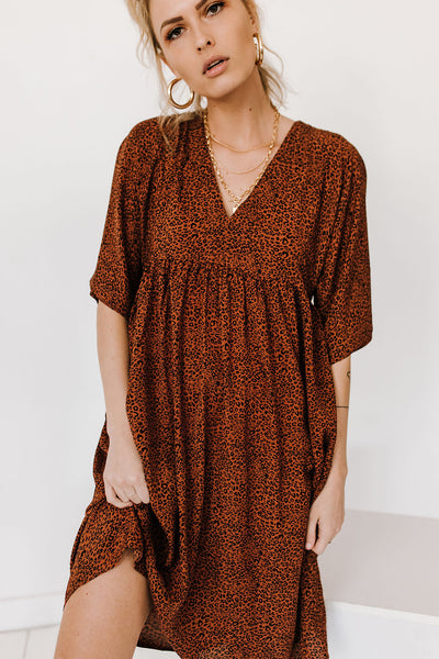 Ride Or Die Leopard Dress