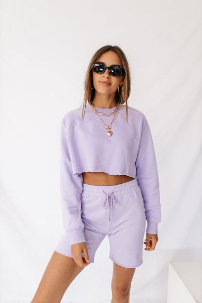 Cool Pastels Pullover // Lilac