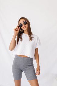 Lookbook Love Bike Short// Grey